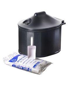 Home Grit Bin with 10kg Salt