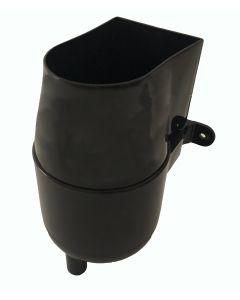 Gutter Mate Diverter & Filter in Black