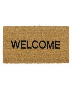 Welcome Latex Coir Doormat 33.5 x 60cm