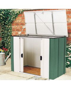 Rowlinson Greenvale Metal Storette With Floor 4' x 2'