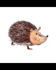 Metal Jolly Hedgehog Ornament