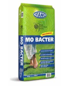 RHS Viano Lawn Care MO Bacter Organic Lawn Fertiliser 20kg Bag