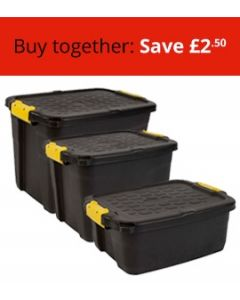 Three Heavy Duty Boxes Bundle (Small, Medium and Large)