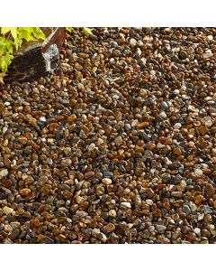 Kelkay Oyster Pearl Pebbles Decorative Aggregate, Bulk Bag