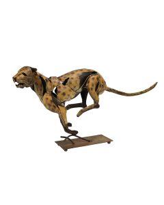 The Sprinting Jaguar Sculpture