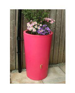 180L Garden Planter Water Butt Pink