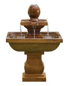 Kelkay Odyssey Water Feature - Brown Rustic Effect