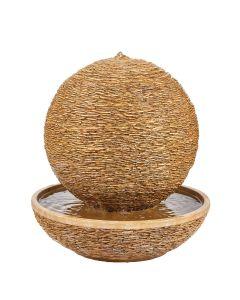 Kelkay Cotswold Sun Water Feature - Cotswold Cream Stone Effect