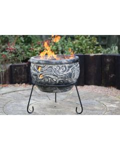 WYND Charcoal The Dragon Fire Pit