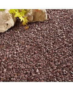 Kelkay Sunset Red Granite Decorative Aggregate, Bulk Bag