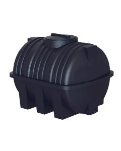 Static 1,020 Litre Horizontal Circular Rainwater Tank
