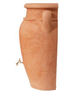 260L Antique WALL Amphora Water Butt - Terracotta