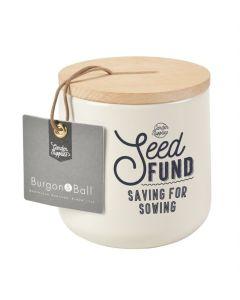 Seed Fund Money Box - Stone FSC 100%