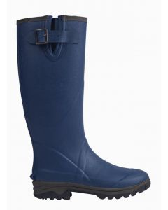 Neoprene Wellington Boot - Navy Size 6