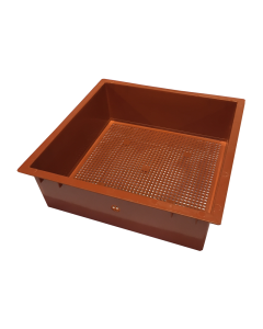 Tiger Wormery Sump Holding Tray in Terracotta