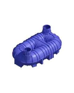 10,000L Twin Neck Non-Potable Underground Tank (Bare Tank Only)