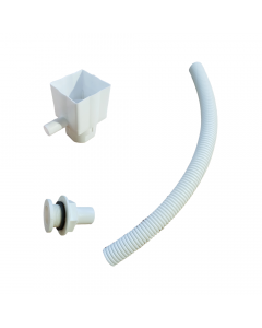 Standard Rain Diverter Kit - White