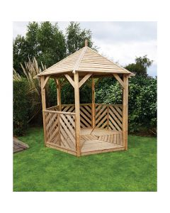 Kelkay Willoughby Wooden Open Side Gazebo