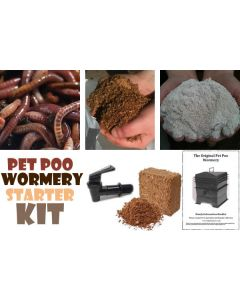 Wormery Starter Kit (for Pet Poo Wormeries)