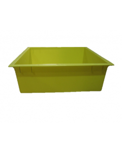 Tiger Wormery Tray in Yellow