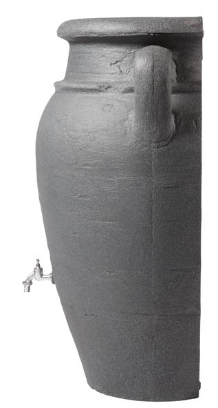 260L Antique WALL Amphora Water Butt - Granite