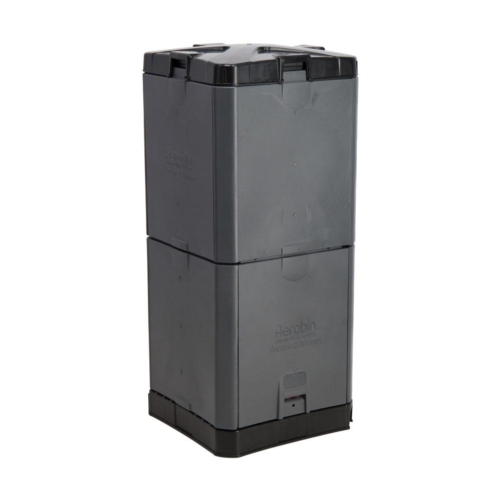 200L Aerobin Hot Composter - Grey