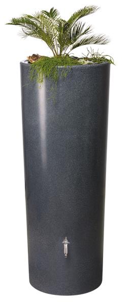 350L Gabbro Stone Effect 2 IN 1 Water Tank - Lava Stone