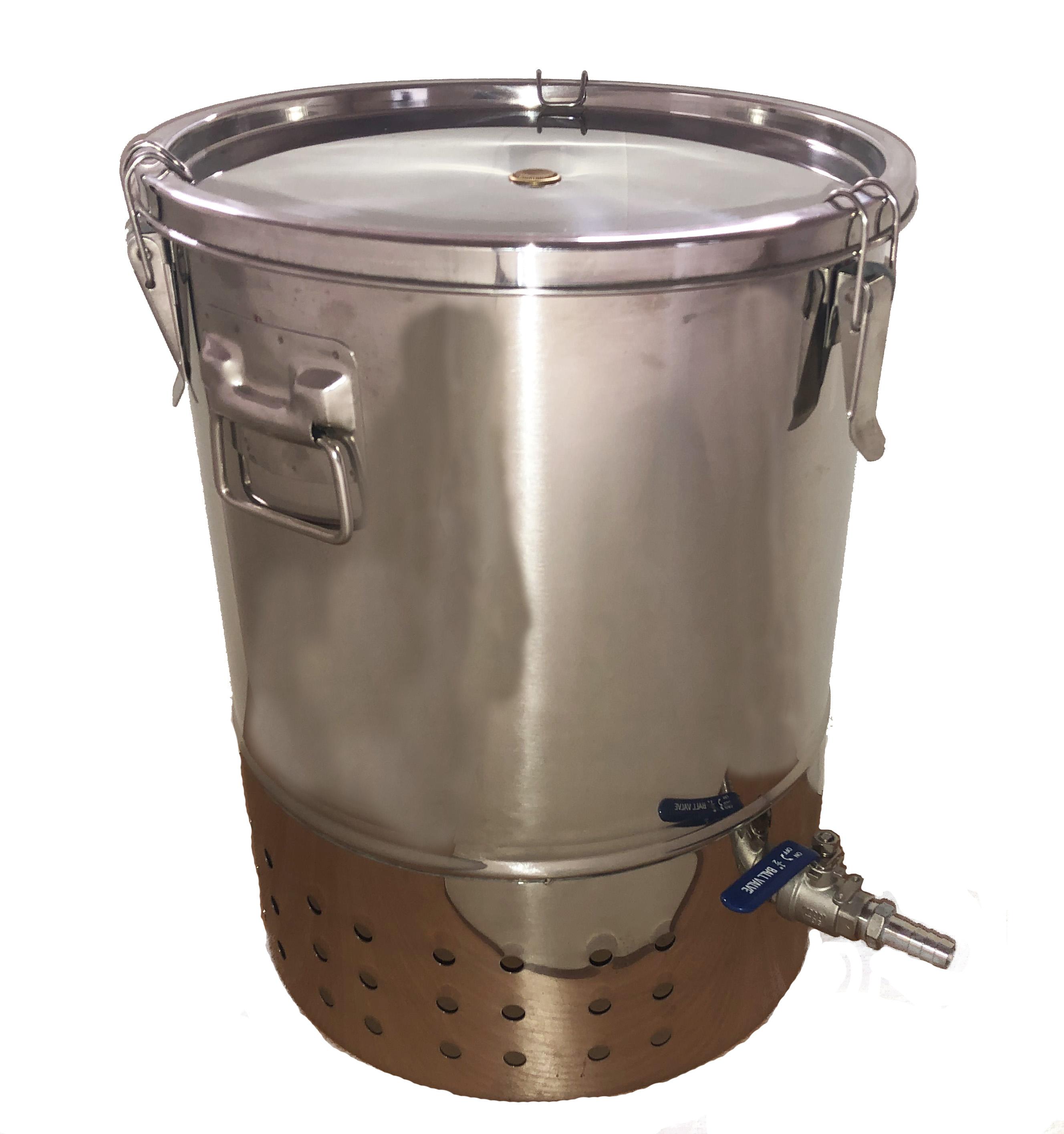 Deluxe Stainless Steel Indoor Wormery Composter
