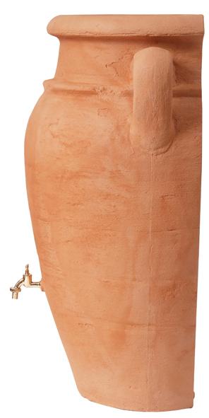 260L Antique WALL Amphora Water Butt - Terracotta