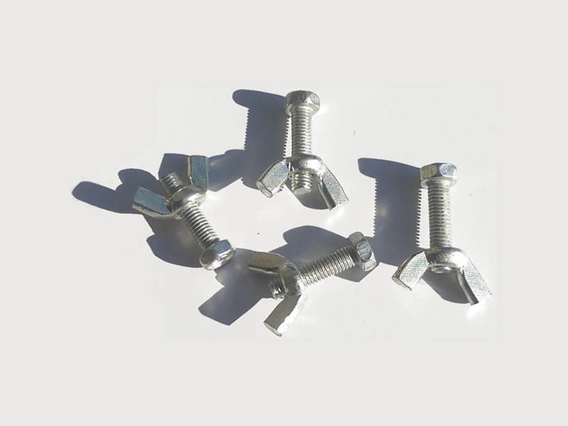 Tiger Wormery Screws & Wing Nuts for Stand & Holding Tray