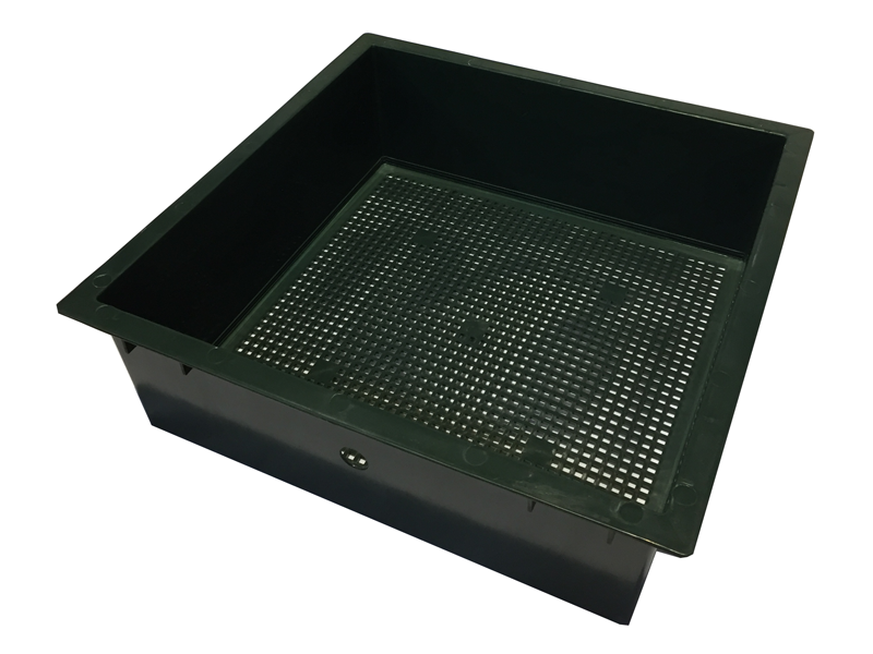 Tiger Wormery Sump Holding Tray in Green